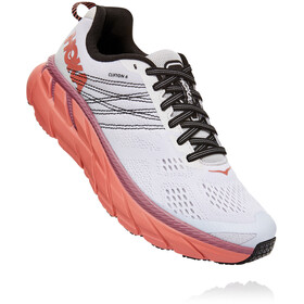 Hoka One One Clifton 6 Shoes Women nimbus cloud/lantana